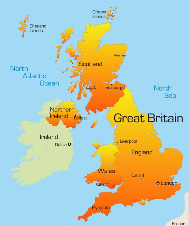 Campsites in Britain