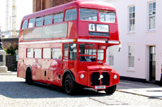 London Bus - an ideal way to travel on your holidays in britain